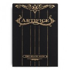 Baraja Profesional Black Club Gold Artifice - Ellusionist