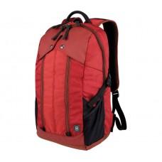 """Mochila para Laptop De 15.6"""" Rojo, con Bolsillo para Tablet y Diseño Delgado"""