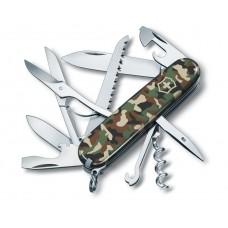 Navaja de bolsillo mediana para caza, HUNTSMAN, CAMUFLAJE