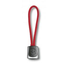 Cordón nylon con emblema VX en plástico, ROJO