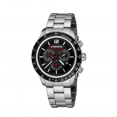 Reloj Roadster Black Night Chrono Wenger Acero