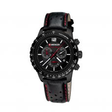 Reloj Roadster Black Night Chrono Wenger Negro