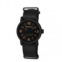 Reloj Urban Metropolitan Wenger, Correa de Piel Negro