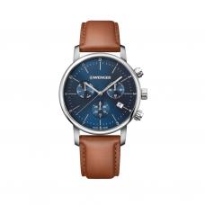 Reloj Urban Classic Chrono Wenger Caballero, Acero